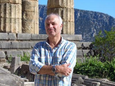 Roland Godel à Delphes